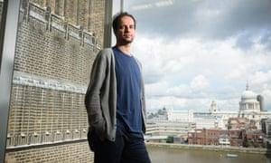 Artist Tino Sehgal in the Tate Modern