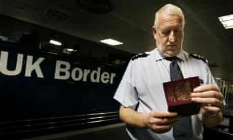 Launch of UK Border Agency