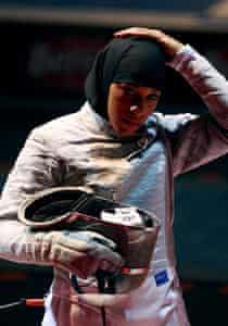 Fencer Ibtihaj Muhammad