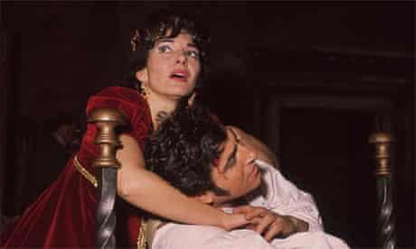 Maria Callas and Renato Cioni in Tosca, London, 1964