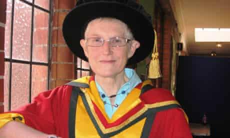 Dementia awareness campaigner Ann Johnson