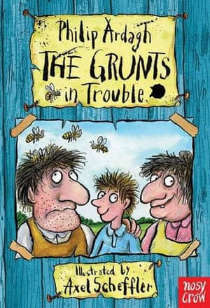 Childrens Books: The Grunts in Trouble
