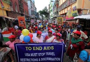 Calcutta: Alternative International AIDS Conference at Sonagachi