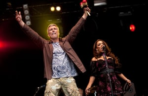 Camp bestival preview:  Bez and Rowetta Satchell of the Happy Mondays