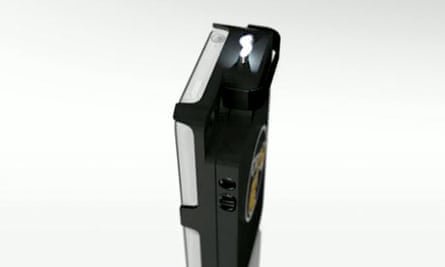 Yellow Jacket: the iPhone stun gun case.