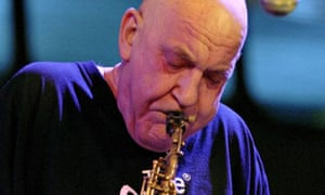 Lol Coxhill performing at the London Jazz Festival in 2006.