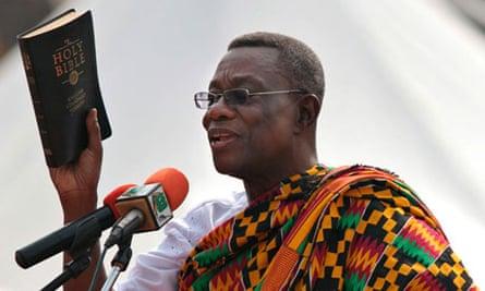 Ghana's president John Evans Atta Mills