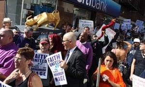 Demonstrators New York