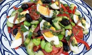 Felicity's perfect salade niçoise