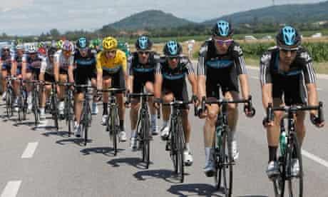 Team Sky in the Tour de France