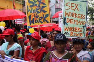 Kolkata: Calcutta: Alternative International AIDS Conference at Sonagachi