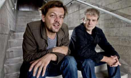 Simon Stephens and Mark Haddon