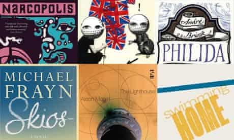 Man Booker Prize 2012 covers