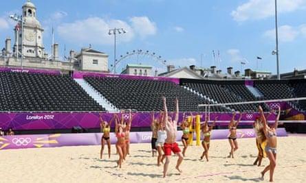 Beach volleyball venue