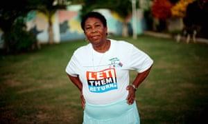 A Chagossian woman in Mauritius
