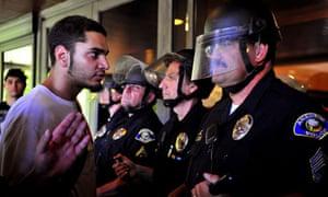 Anaheim demontrations protest