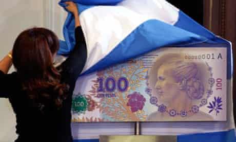 Eva Peron banknote
