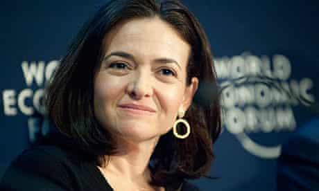 Sheryl Sandberg, Chief Operating Officer of the social network service Facebook