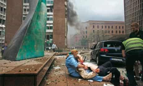 Bystanders: bomb aftermath