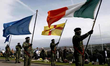 Real IRA Easter Rising commemoration 5 April 2010