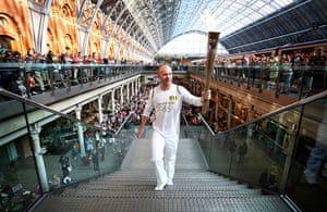 Olympic Torch relay: Day 69 - Olympic Torch Relay