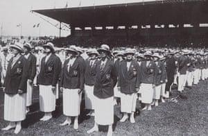 Opening ceremonies: Opening ceremony 1924 Olympic Games Paris