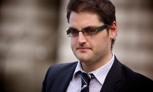 Paul Chambers, who has won his high court challenge to a conviction for sending a 'menacing' tweet
