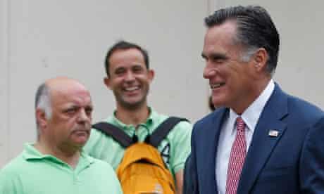 Mitt Romney in London