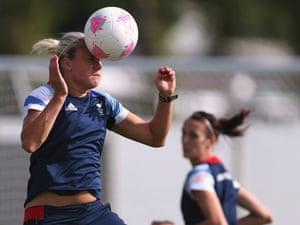 Team GB's Olympic women's soccer team player Stephanie Houghton