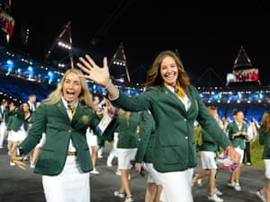 The Australian team are very excited to be here