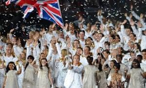 Sir Chris Hoy does his best flag waving