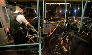 Cyclists arrested