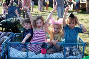 Camp Bestival - Day 1: Kids enjoy the show
