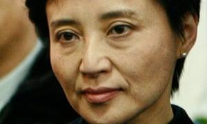 Gu Kailai, wife of Bo Xilai