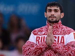 Russian -60 kgs Judo competitor Arsen Galstyan