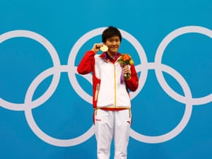 Ye Shiwen takes gold after setting a world record in the women's 400m individual medley