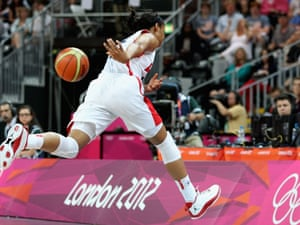 USA versus Croatia basketball