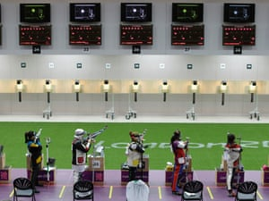 women's 10-meter air rifle competition