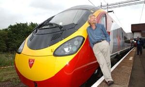 Virgin Rail co-owner Sir Richard Branson
