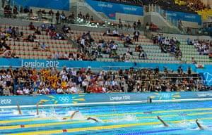 Seats: Swimming heats