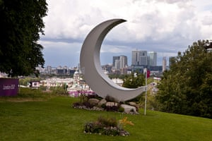 Equestrian Course Fences: Fences - showjumping at Greenwich Park London 2012