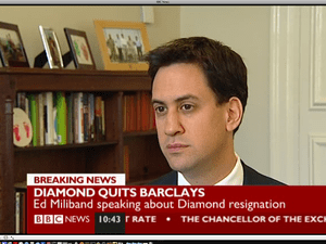 Ed Miliband on BBC News today