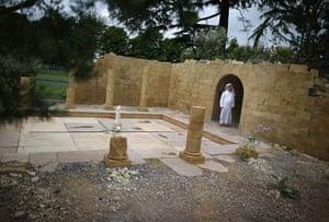 Hampton Court flower show: Fayed Al Subehat of The Jordanian Tourist Board The Discover Jordan Garden