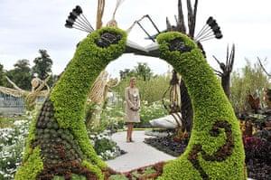 Hampton Court flower show: The Countess of Wessex RHS Hampton Court Flower Show
