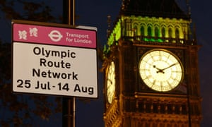 Olympic route network