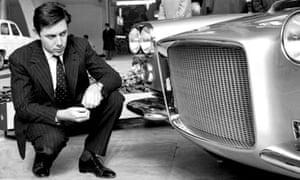 Sergio Pininfarina in 1959