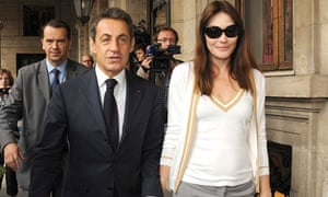 Nicolas Sarkozy and Carla Bruni-Sarkozy