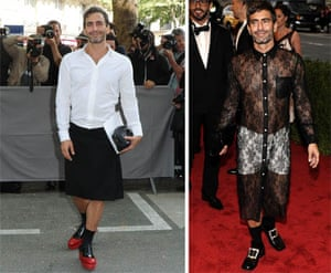 ffef3160f9 Marc Jacobs show us how to carry off a skirt | Fashion | The Guardian