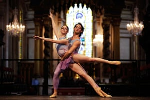 Ballet in St Paul's : The programme will include excerpts from Suite en blanc
