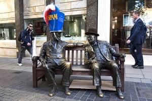Hatwalk gallery: Franklin D. Roosevelt and Sir Winston Churchill